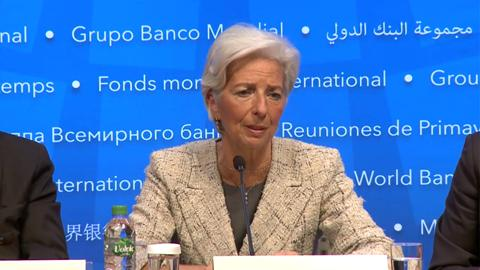 FRENCH: IMF Managing Director Press Conference