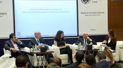 Regional Economic Outlook for the Middle East and North Africa: Panel Discussion