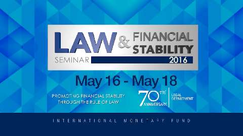 Law and Financial Stability Seminar