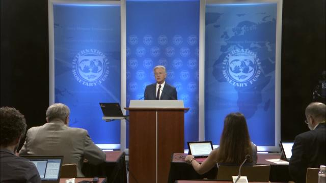 Press Briefing by Gerry Rice, Director, IMF Communications