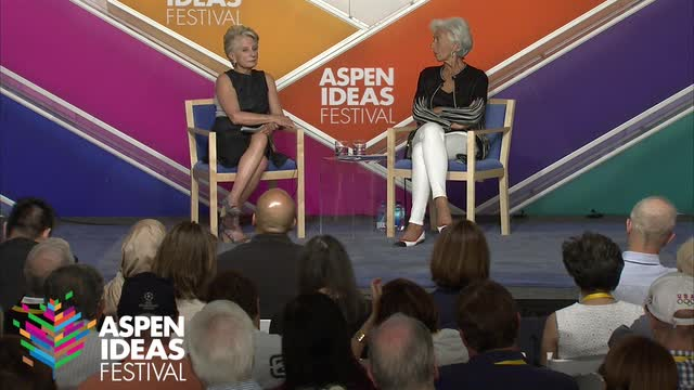 Aspen Ideas Festival: Conversation with Christine Lagarde