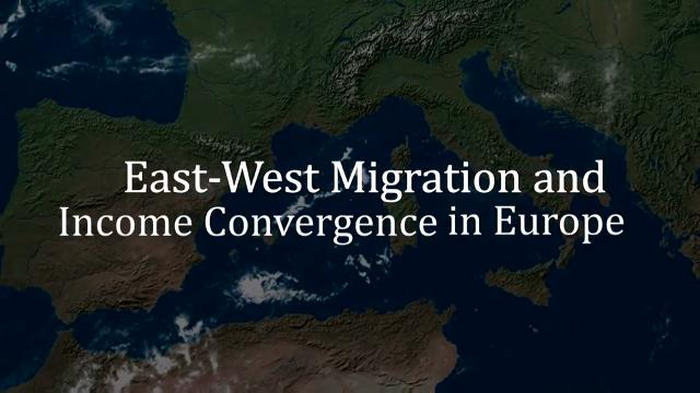 East-West Migration and Income Convergence in Europe