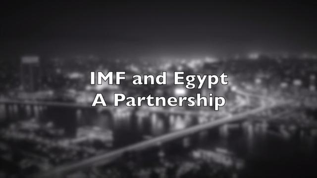 IMF and Egypt - A Partnership