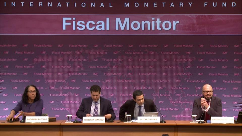 ARABIC: Press Briefing: Fiscal Monitor