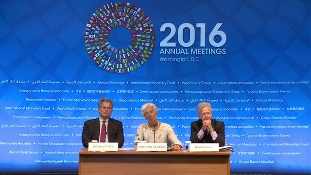 Press Briefing by the IMF Managing Director