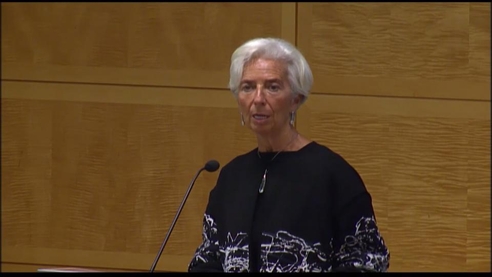 Lagarde Remarks at Annual Research Conference