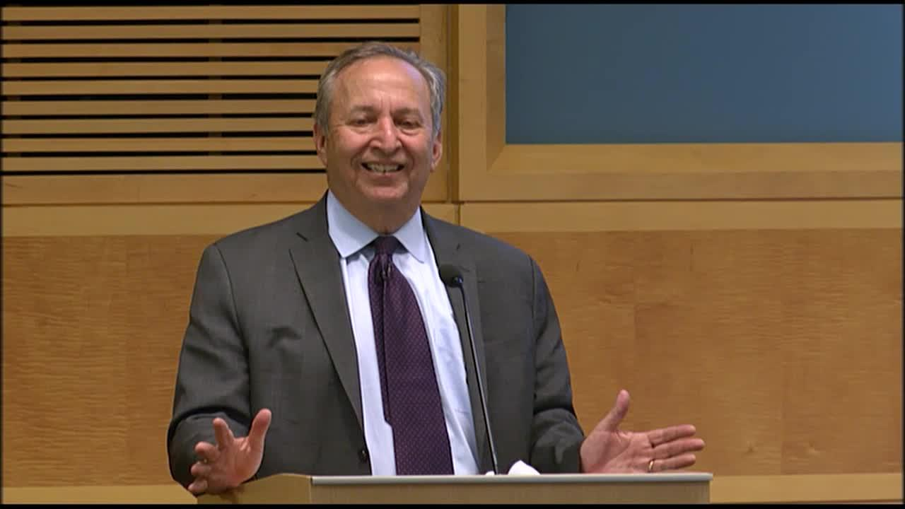 Mundell-Fleming Lecture by Lawrence H. Summers