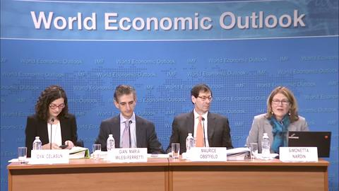 World Economic Outlook Update Press Briefing