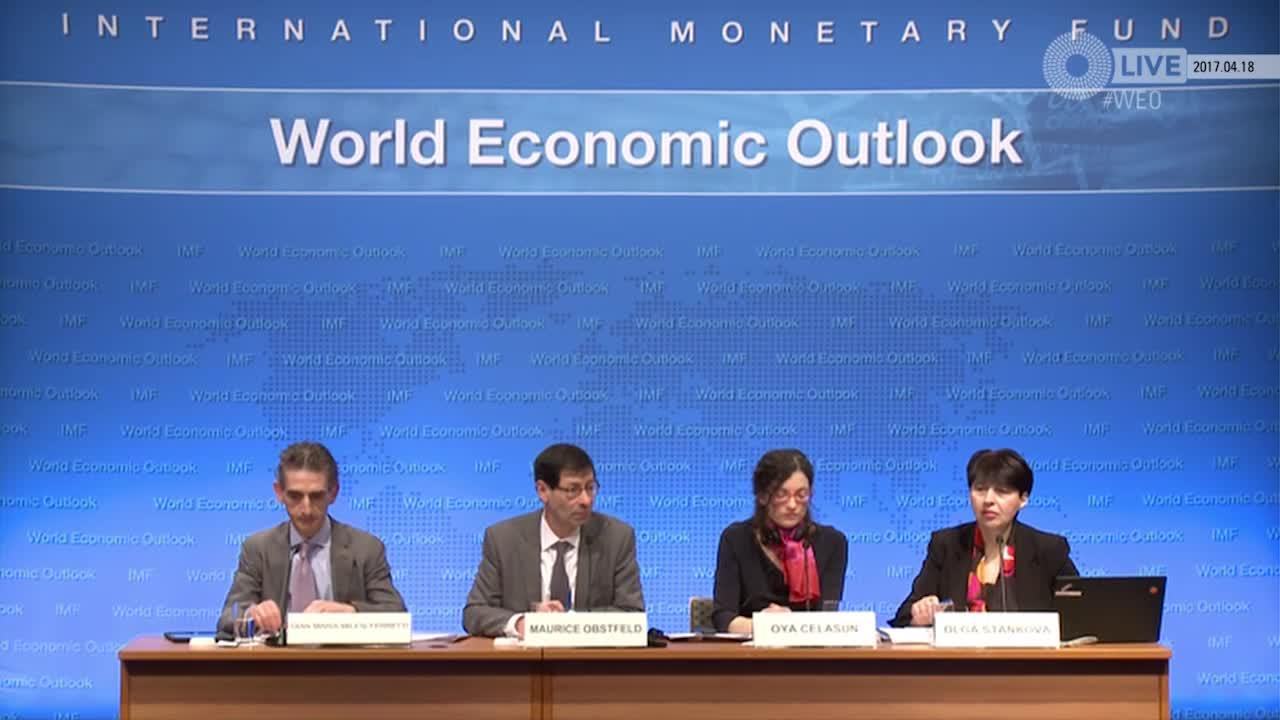 French: World Economic Outlook Update Press Briefing