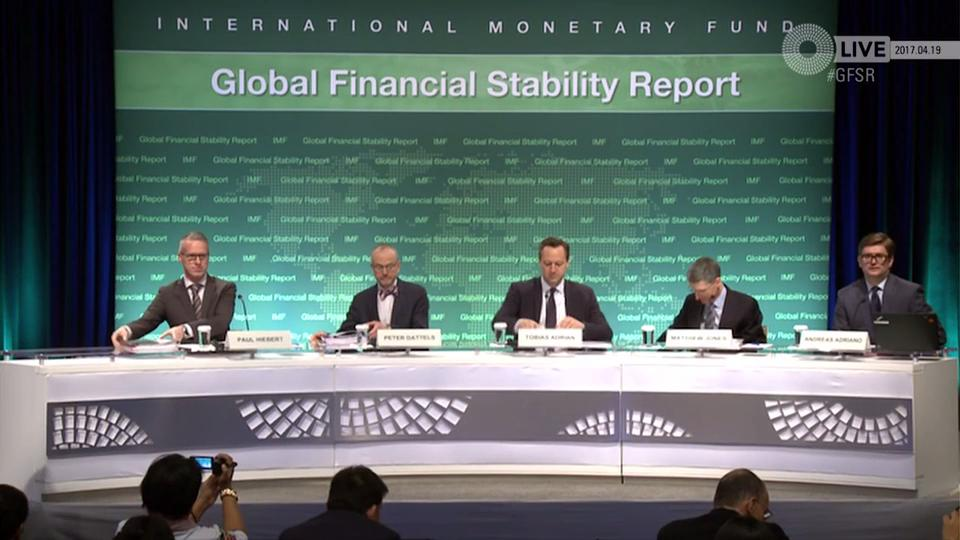 Press Briefing: Global Financial Stabiity Report