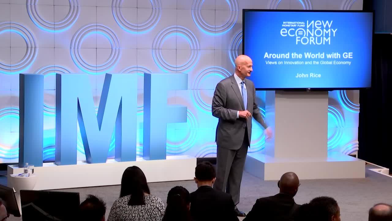New Economy: Around the World with GE: Views on Innovation and the Global Economy
