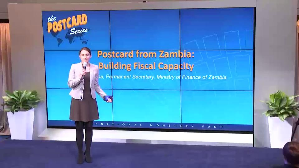 Postcard from Zambia: Building Fiscal Capacity