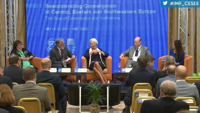 Reaccelerating Convergence in Central Eastern and Southeastern Europe, Session Three: Policy Round Table
