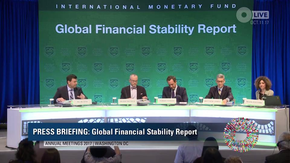 Press Briefing: Global Financial Stability Report