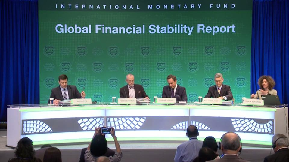 French: Press Briefing: Global Financial Stability Report