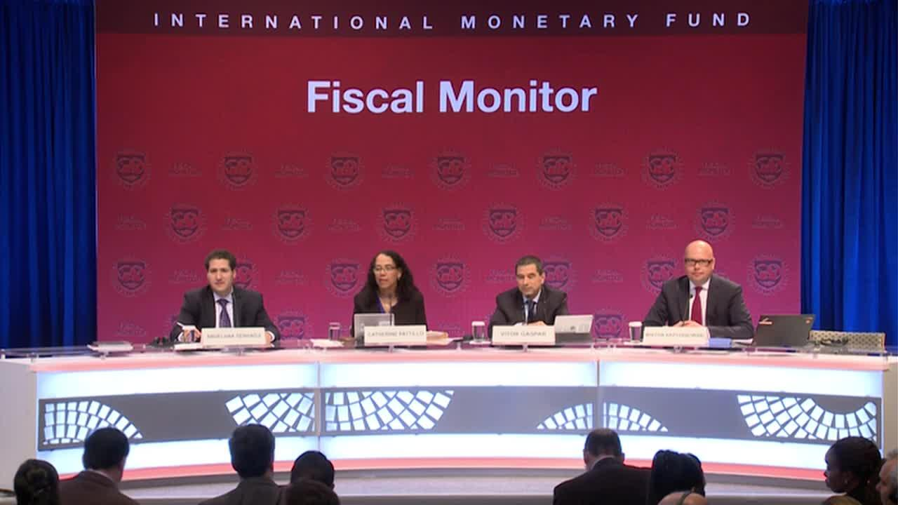Spanish: Press Briefing: Fiscal Monitor