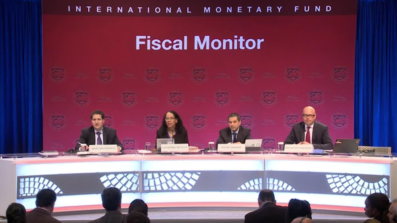 French: Press Briefing: Fiscal Monitor