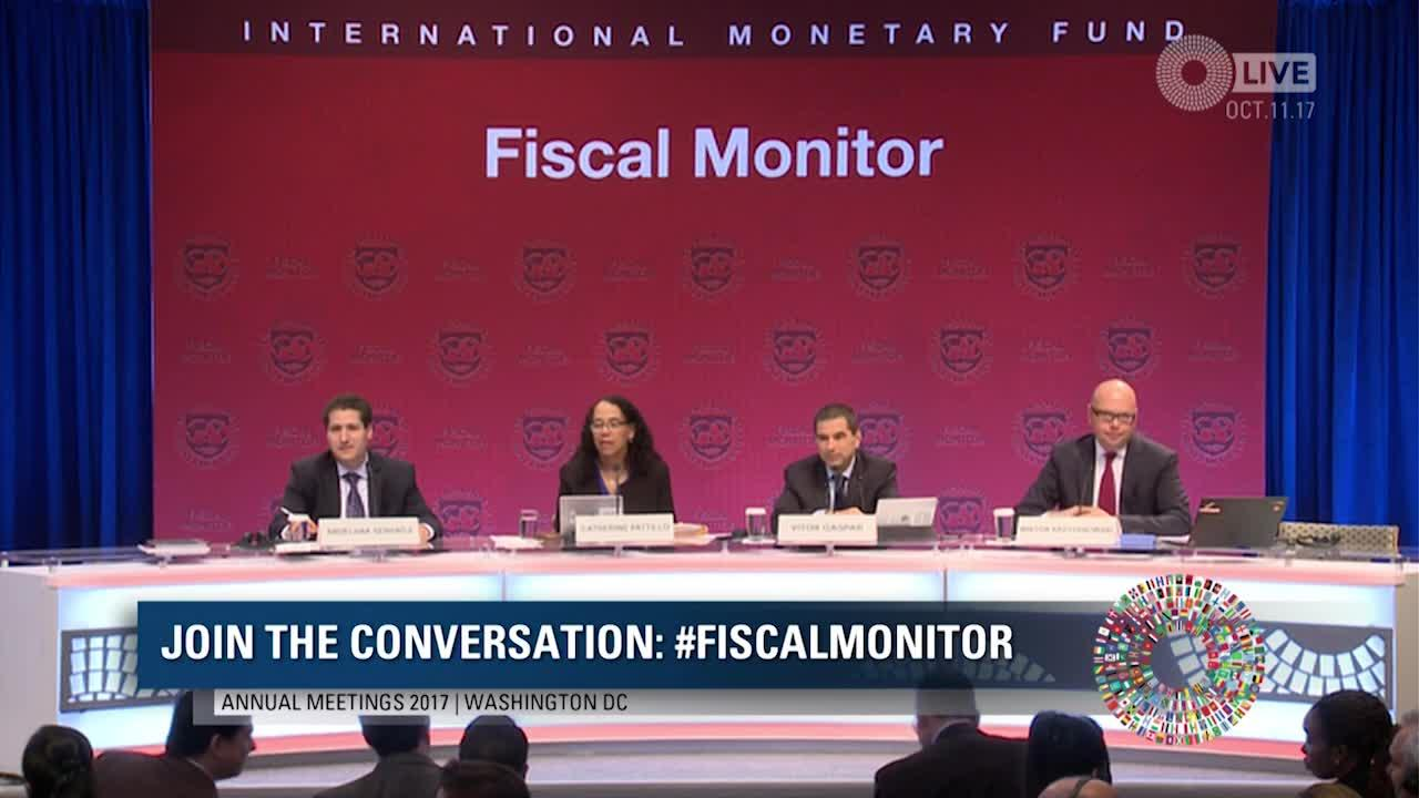 Press Briefing: Fiscal Monitor