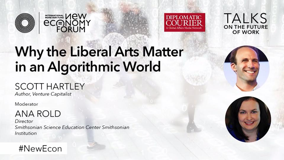 New Economy Talk: Why the Liberal Arts Matter in an Algorithmic World