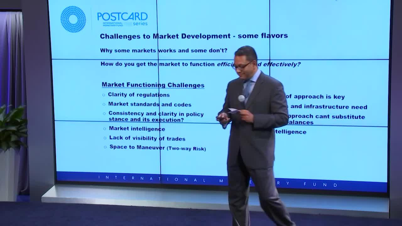 Postcard Series: Launching of the Monetary and Capital Markets Technical Assistance Strategy Update