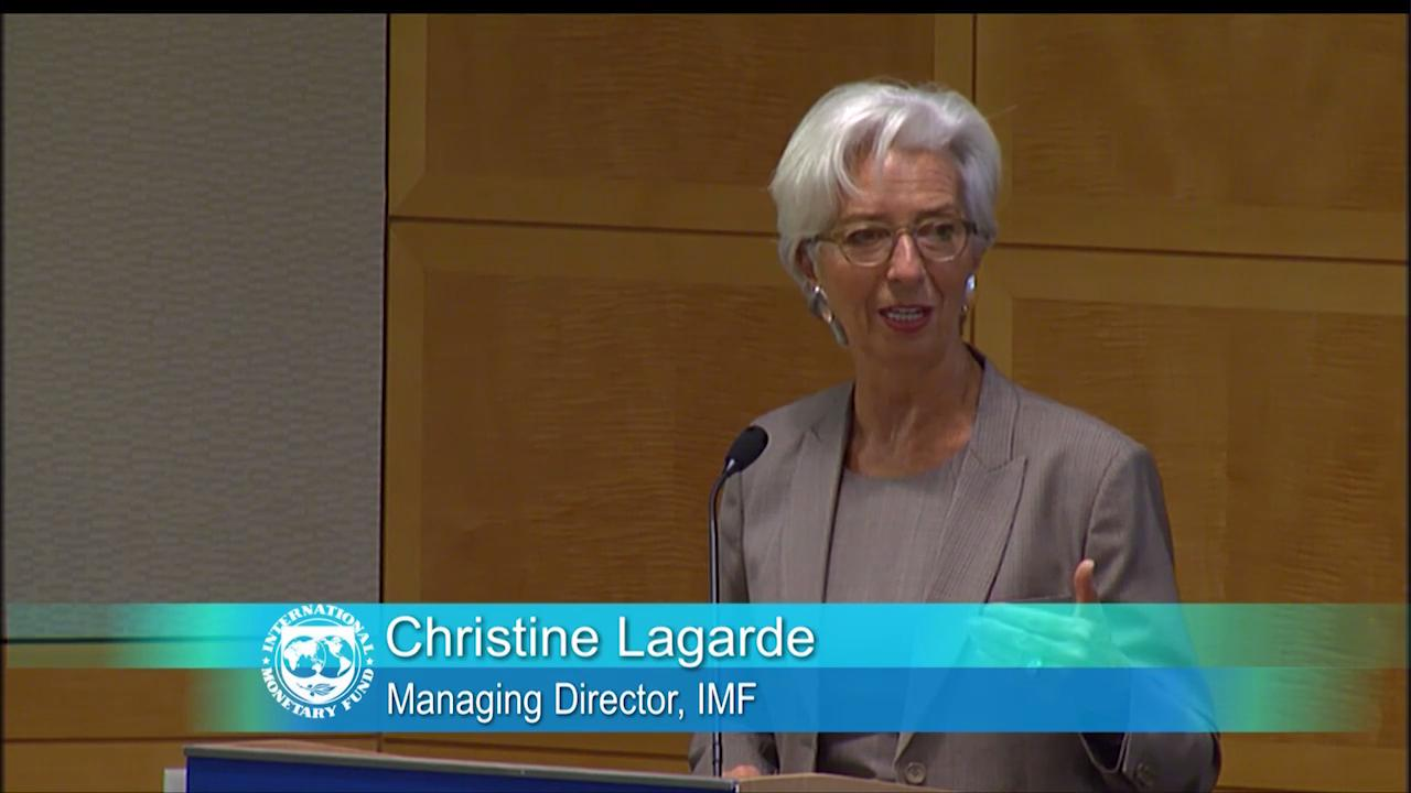 "Opening Remarks by Christine Lagarde on ""The Global Financial Cycle"""
