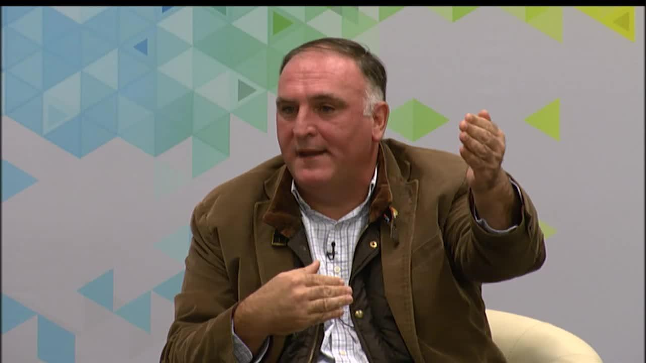 Food for Thought: A Conversation with Chef José Andrés