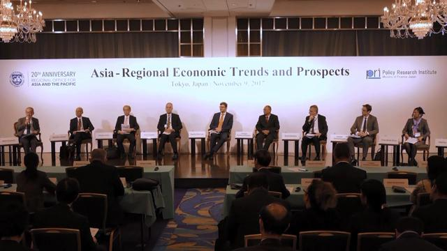 Seminar on Asia-Regional Economic Trends and Prospects: Session I:  Regional Economic Trends