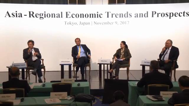 Seminar on Asia-Regional Economic Trends and Prospects: Session 2: China