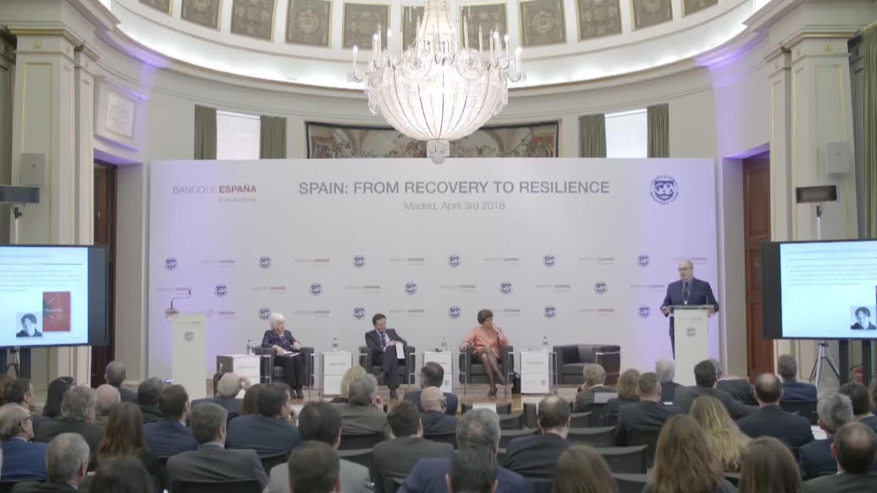 Spain: From Recovery to Resilience – Session 3: Raising Medium-Term Growth Prospects