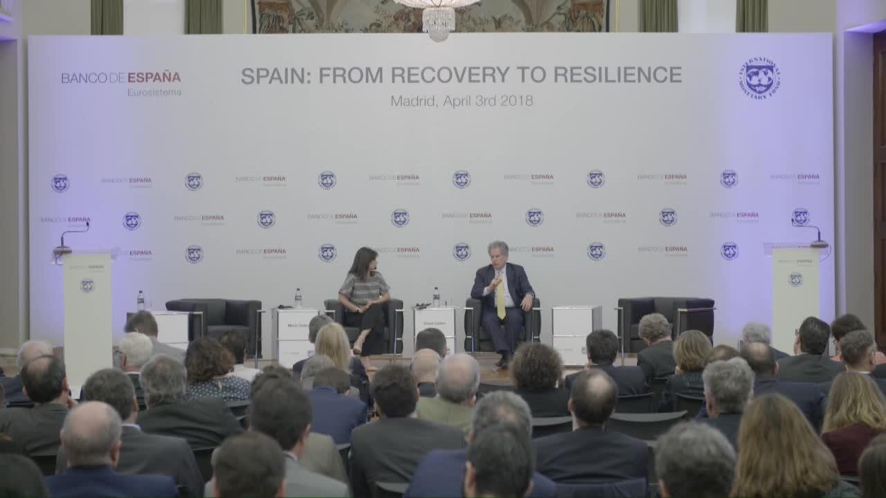 Spain: From Recovery to Resilience – Keynote speech and Q&A