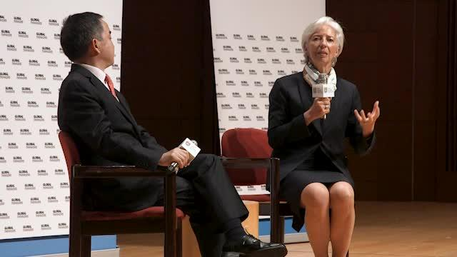 Curtain Raiser Speech by MD at Hong Kong University: AGI and Lagarde discussion
