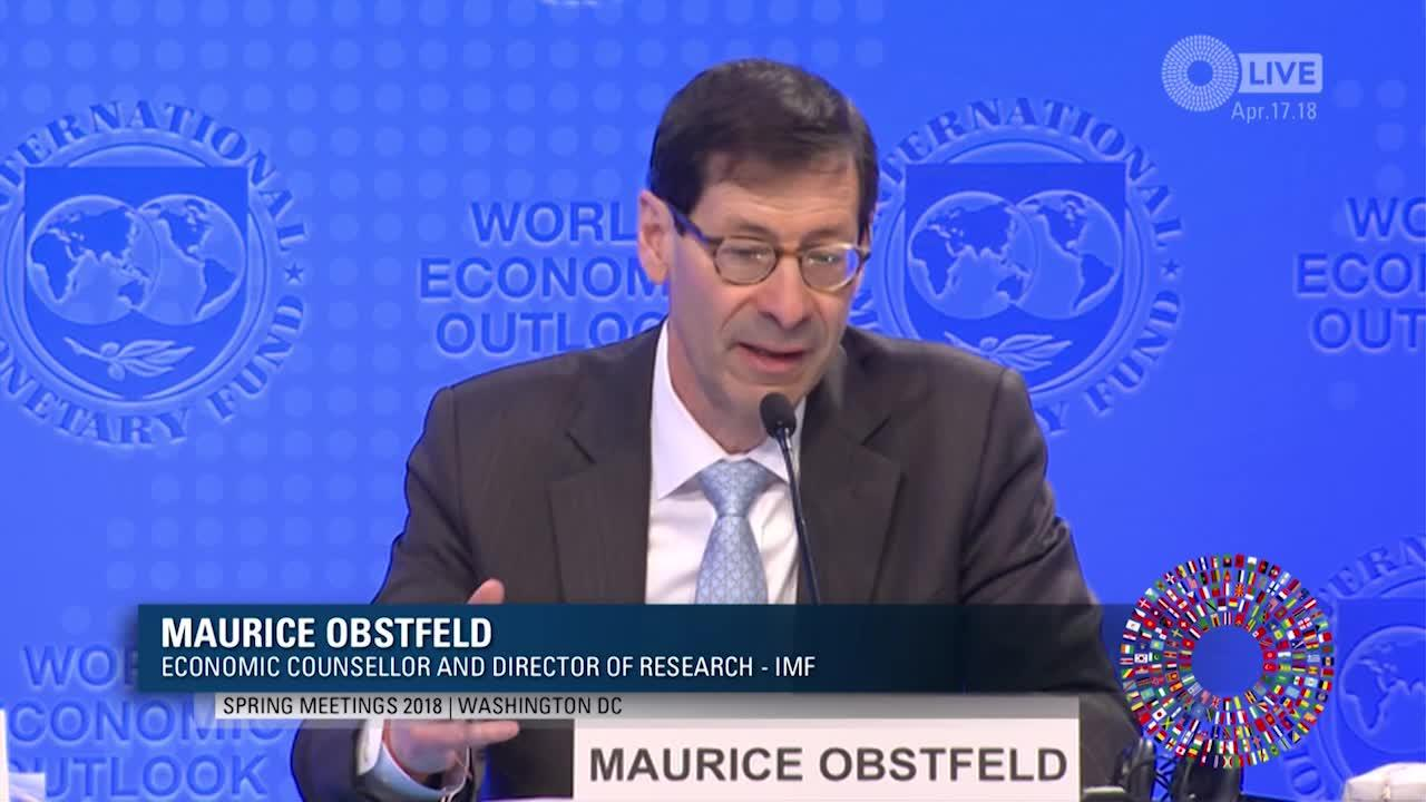 FRENCH: Press Briefing: World Economic Outlook April 2018
