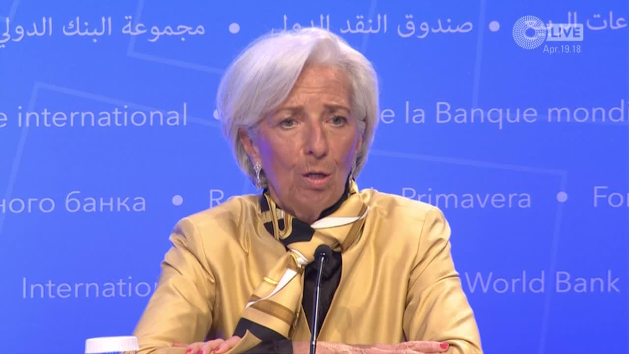 IMF Managing Director Press Conference