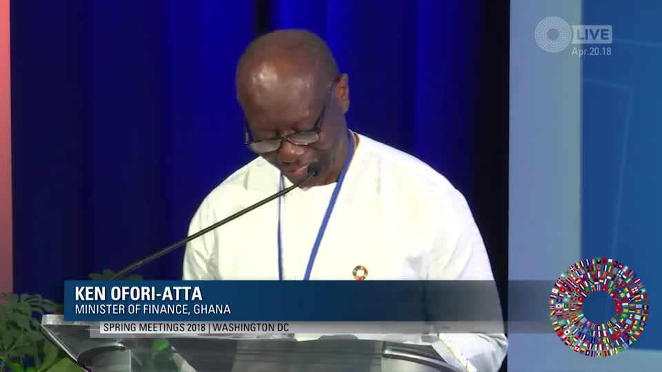 Attracting Private Investment in Sub-Saharan Africa - Clip2 Ofori-Atta