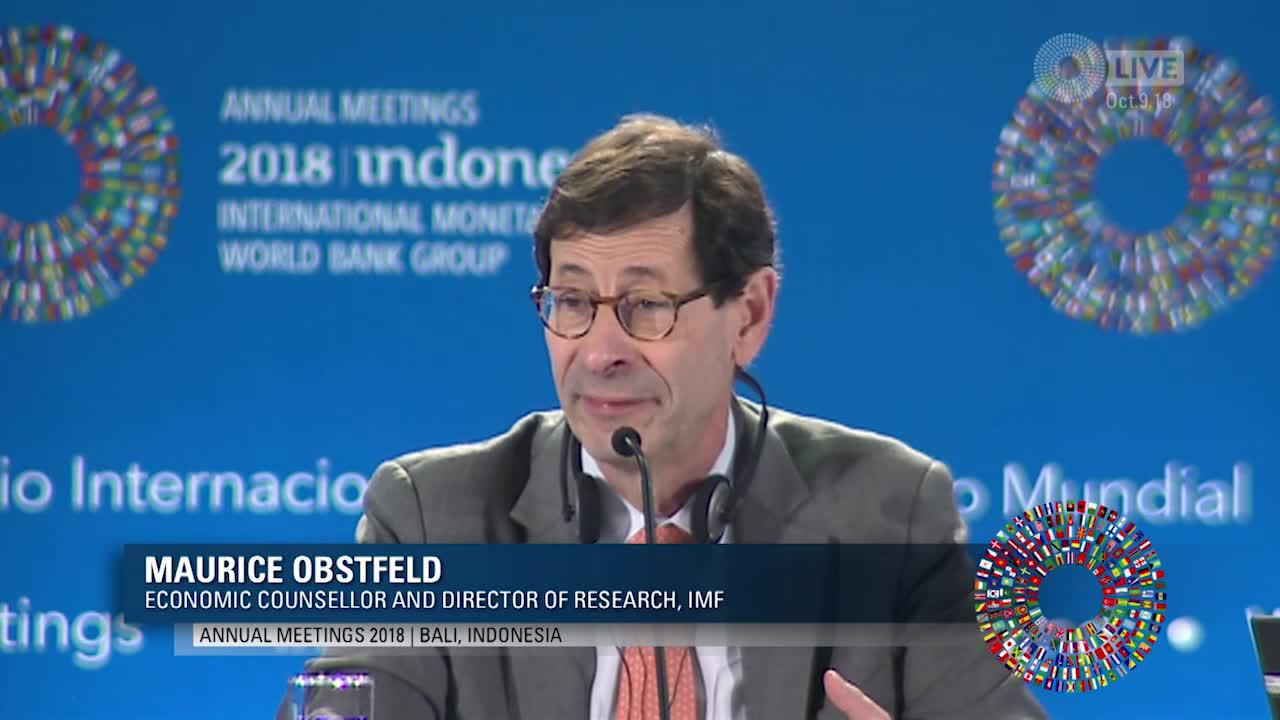 FRENCH: Press Briefing: World Economic Outlook