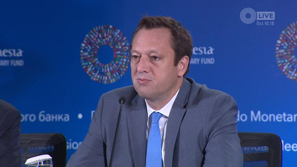 SPANISH: Press Briefing: Global Financial Stability Report