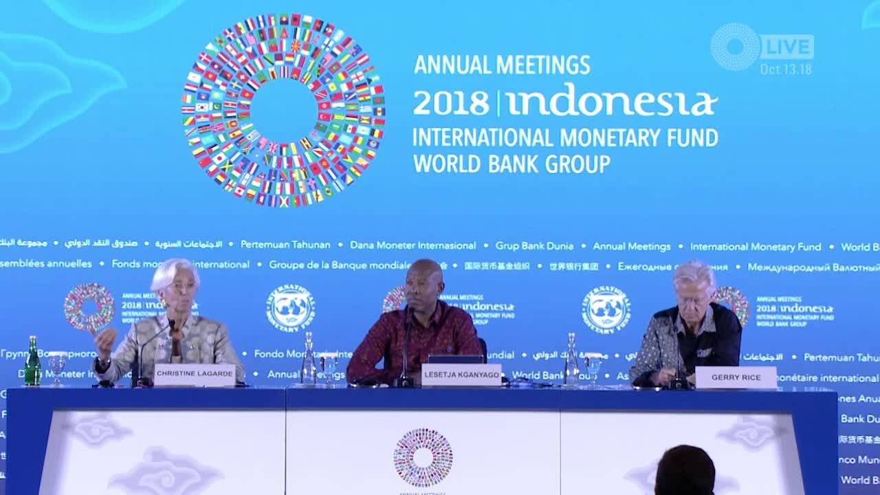 BAHASA INDONESIAN: Press Briefing: IMFC Chairman and Managing Director