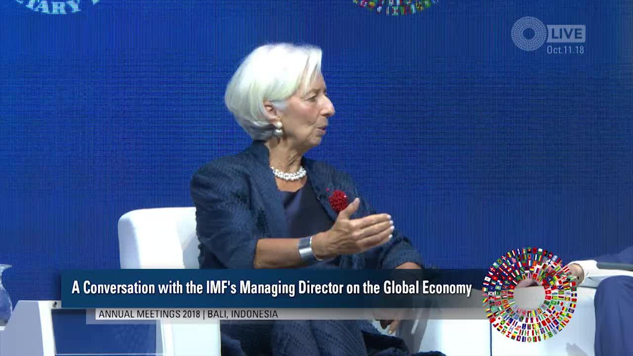 A Conversation with the IMF's Managing Director on the Global Economy