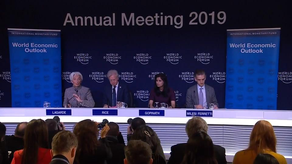 Press Briefing on the World Economic Outlook January 2019 Update