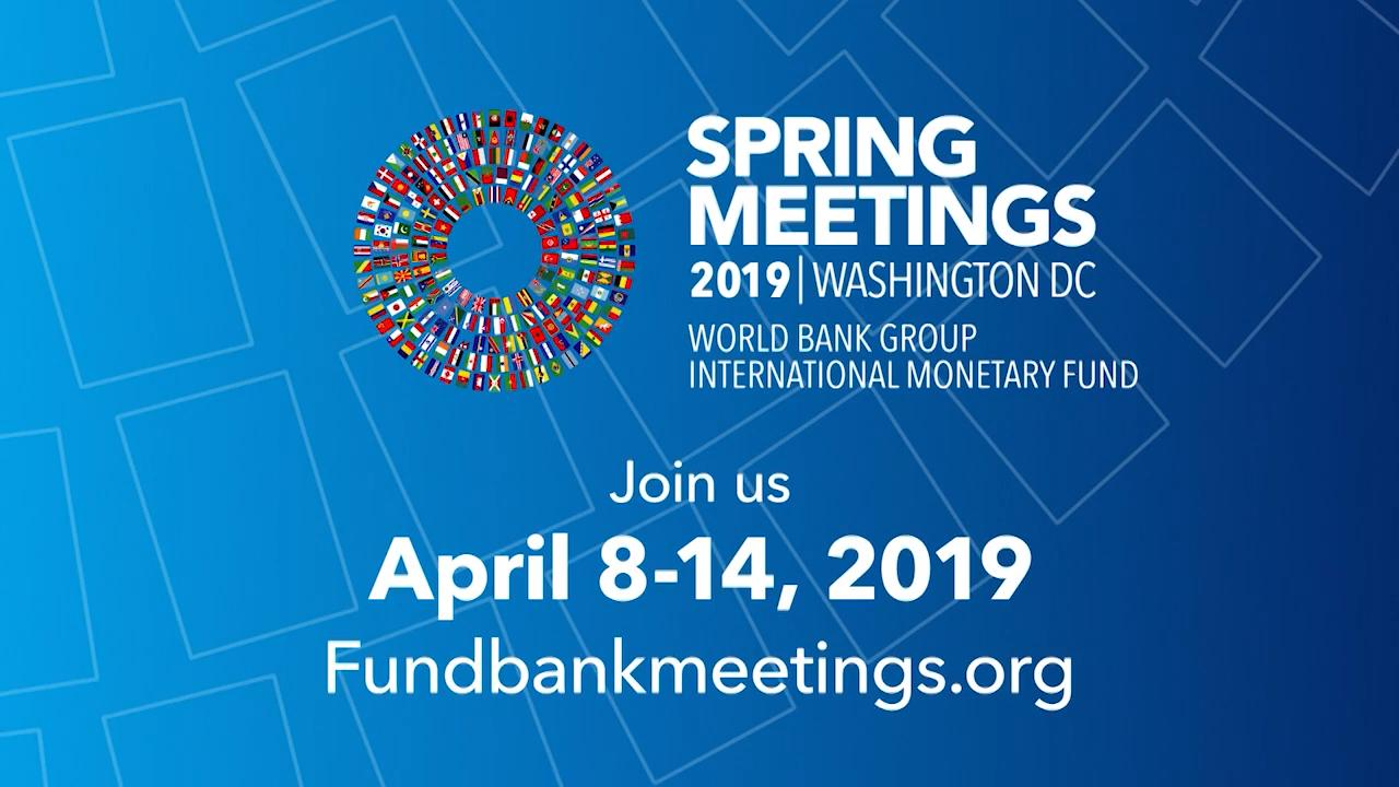 World Bank-IMF Spring Meetings Promo, 2019