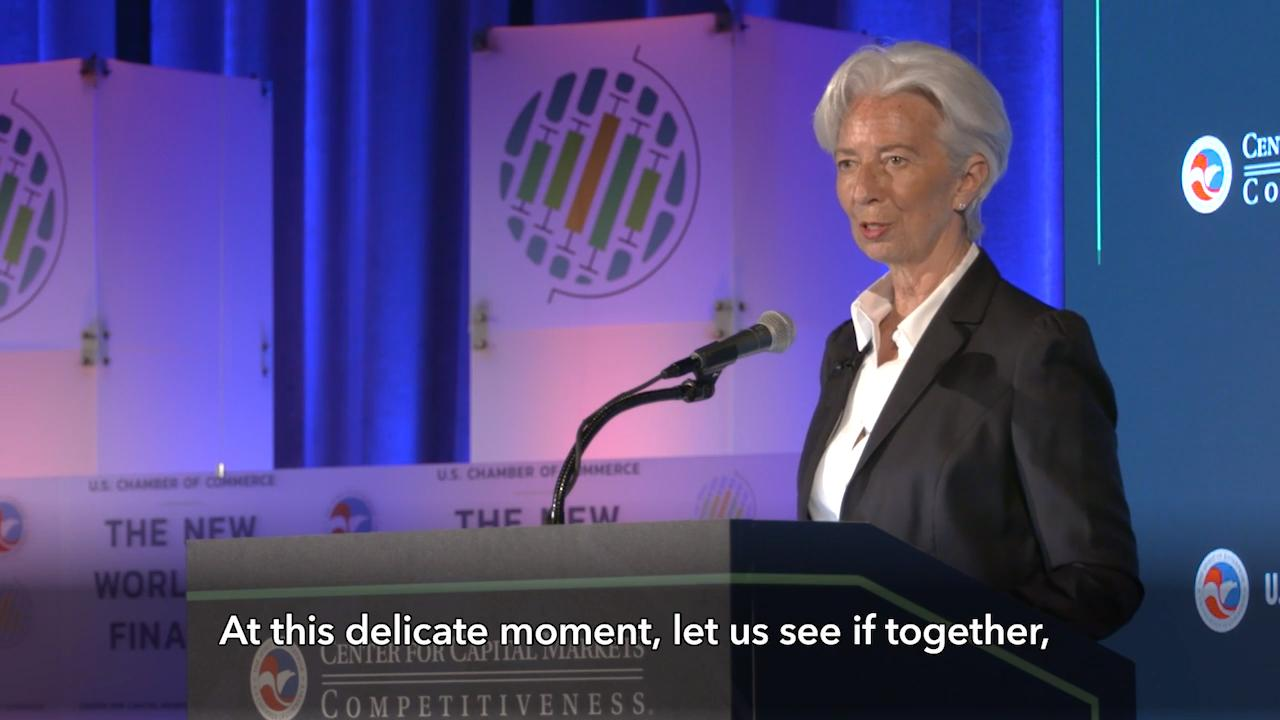 A 'Delicate Moment' for the Global Economy, speech by IMF MD Christine Lagarde