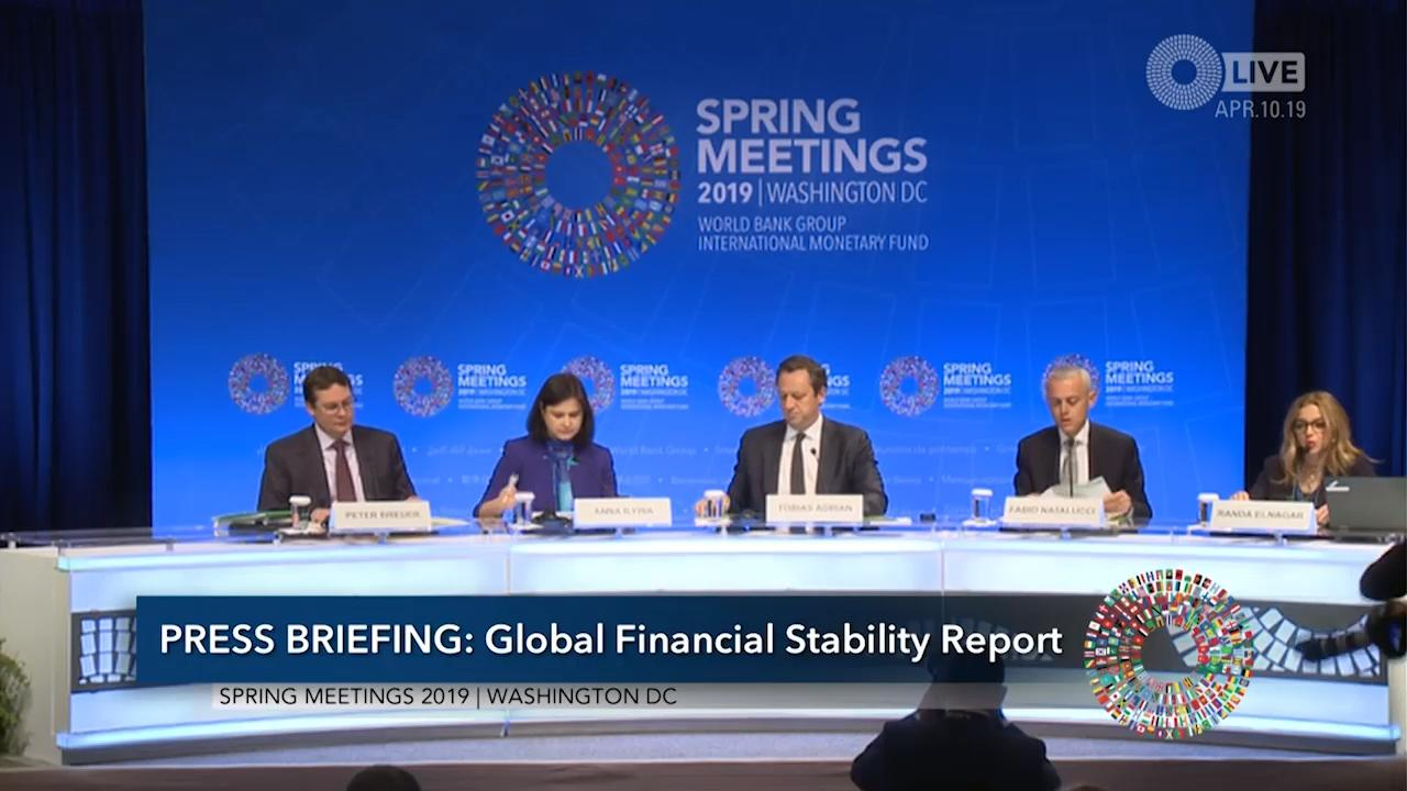 French - Press Briefing: Global Financial Stability Report (GFSR)