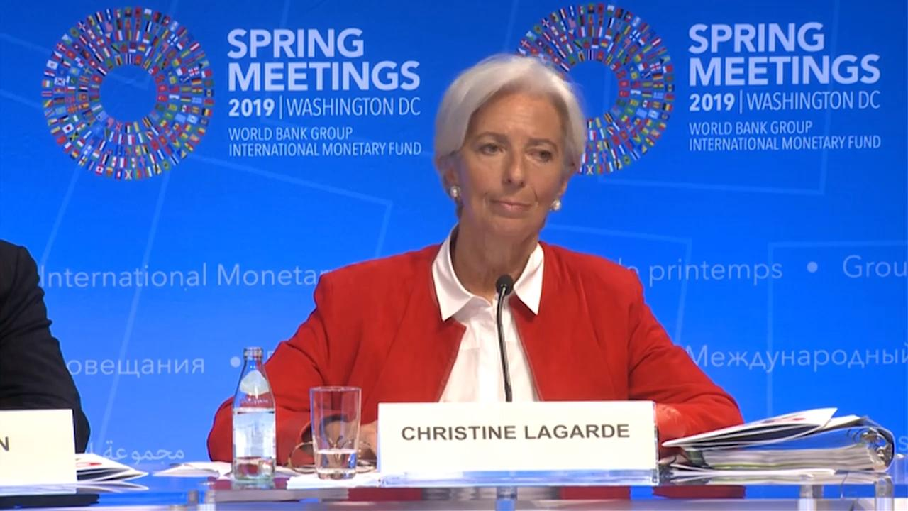 Arabic - Press Conference with IMF Managing Director