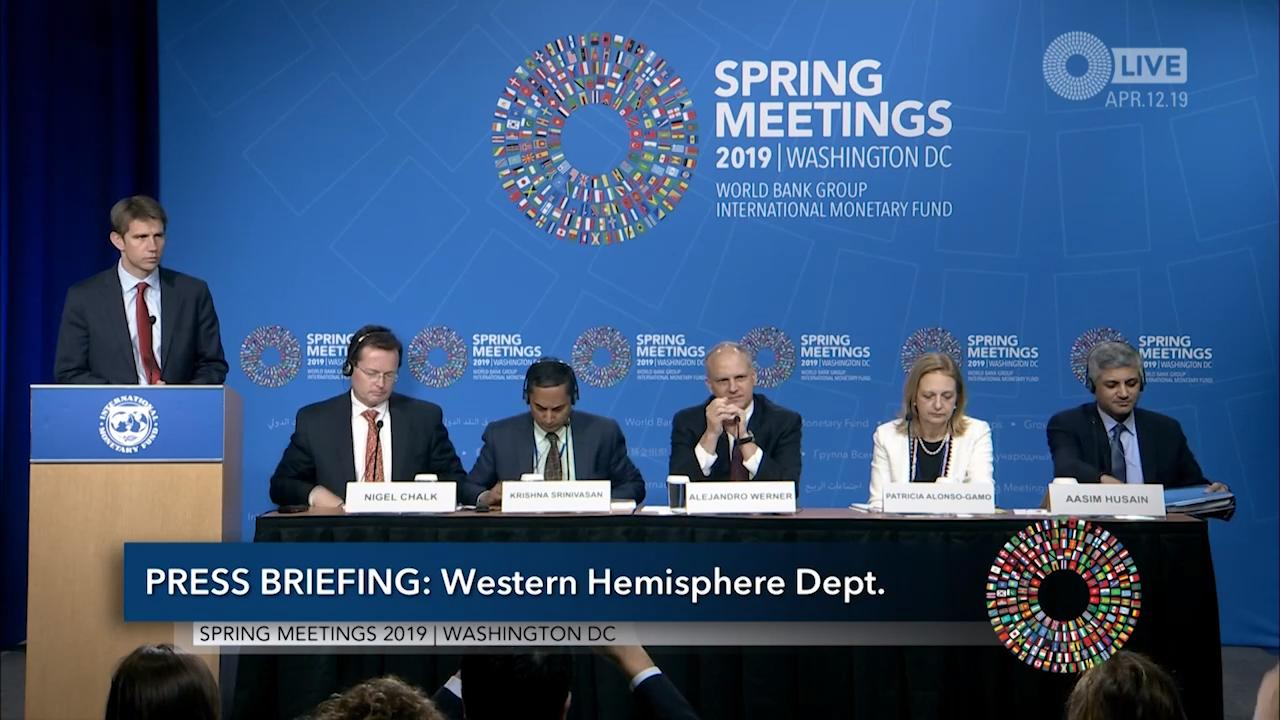 Portuguese - Press Briefing: Press Briefing: Western Hemisphere Department