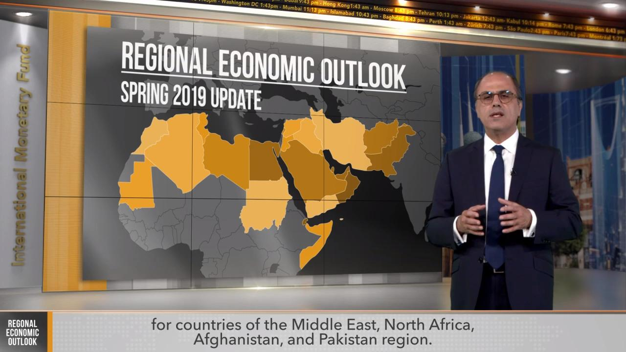 April 2019 Regional Economic Outlook Update: Middle East, North Africa, Afghanistan and Pakistan