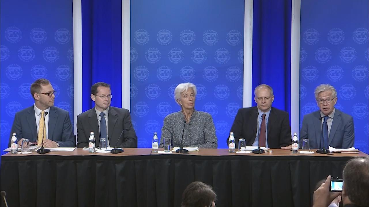 IMF Press Conference on the Annual Review of the U.S. Economy
