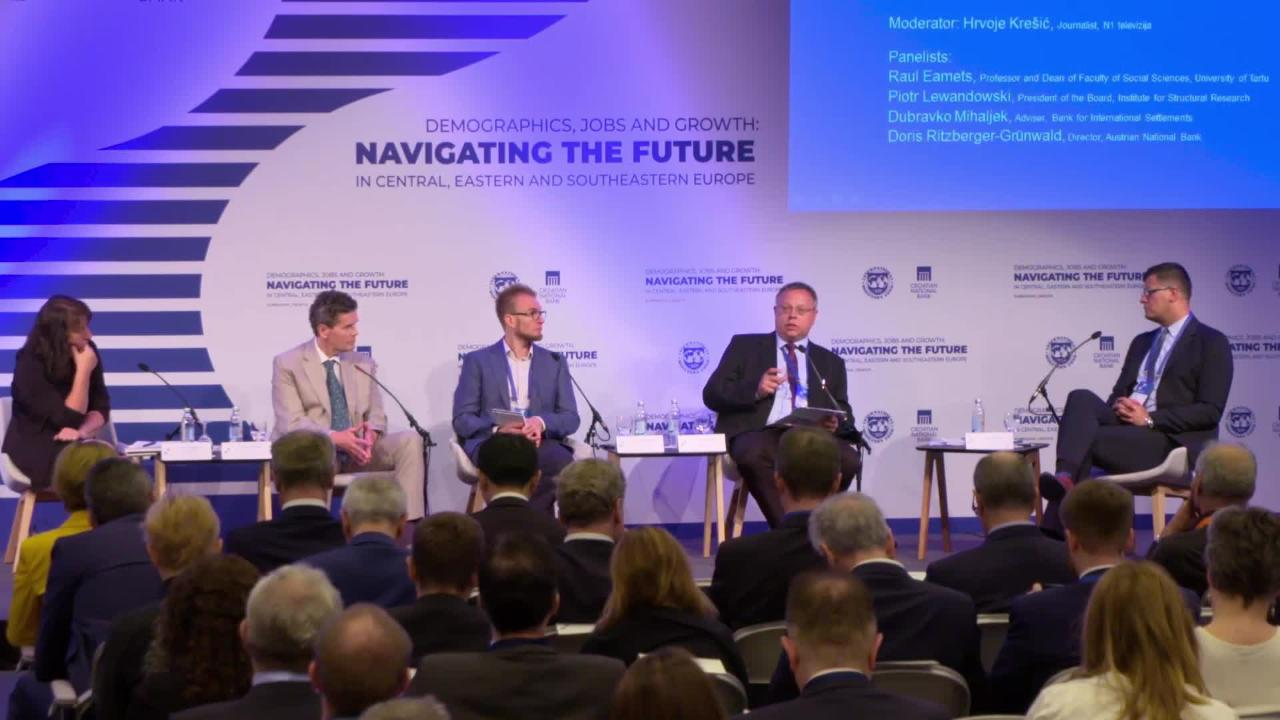 Session I - Navigating the Future in Central, Eastern and Southeastern Europe