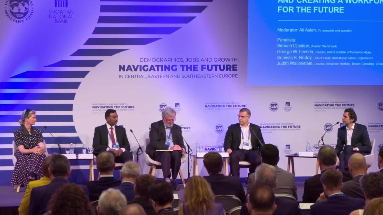 Session II - Navigating the Future in Central, Eastern and Southeastern Europe