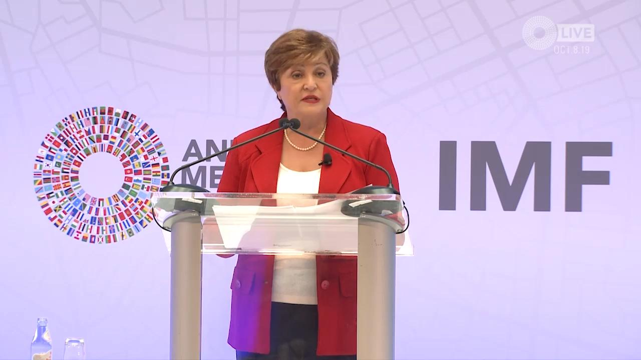 Decelerating Growth Calls for Accelerating Action:  A speech by IMF Managing Director Kristalina Georgieva
