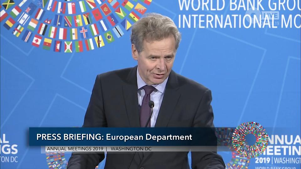 French - Press Briefing: European Department